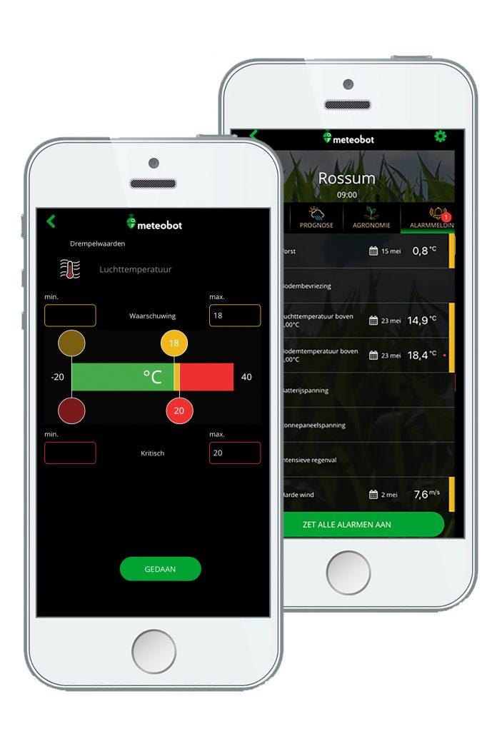 Met behulp van slimme apps op je smartphone zijn de mistsystemen van Atec Solutions eenvoudig te bedienen.