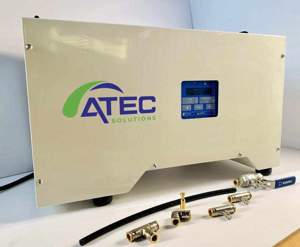 Pomp Atec Solutions waarmee alle systemen aangestuurd worden